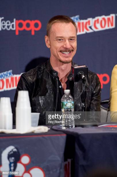 Ben Daniels attends the 'The Exorcist' panel during the 2017 New York Comic Con Day 4 on October 8 2017 in New York City