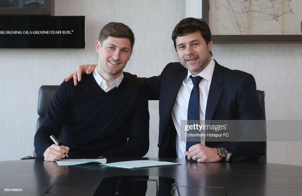 Ben Davies Signs a New Contract at  Tottenham Hotspur