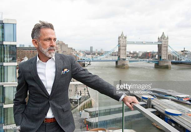 Ben de Lisi attends as the first stylist as Debenhams launches their designer apartment on March 2 2016 in London England