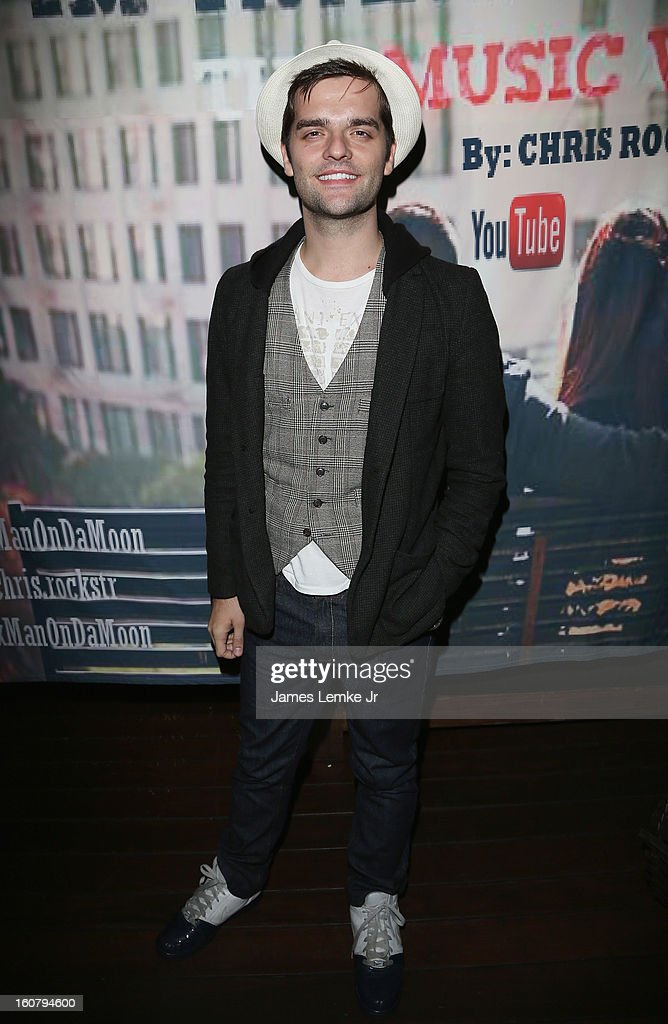 Ben Decker attends Chris Rockstar's 'I Guess I'm Trying To Say' Music Video Release Party held at the W Hollywood on February 5, 2013 in Hollywood, California.