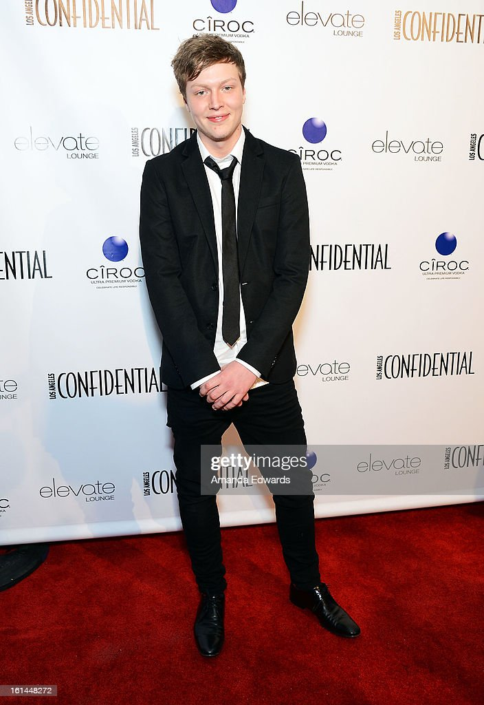 Ben Diamond arrives at the Los Angeles Confidential and Harmony Project GRAMMY after party honoring Mary J. Blige at Elevate Lounge on February 10, 2013 in Los Angeles, California.