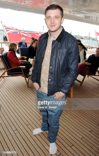 Ben Drew aka Plan B attends a lunch hosted by Len Blavatnik Harvey Weinstein and Warner Music during the 65th Cannes Film Festival on board the...