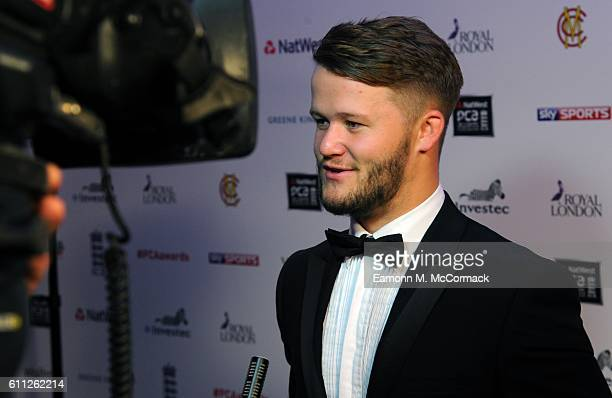 Ben Duckett attends the PCA Awards at Grosvenor House on September 28 2016 in London England