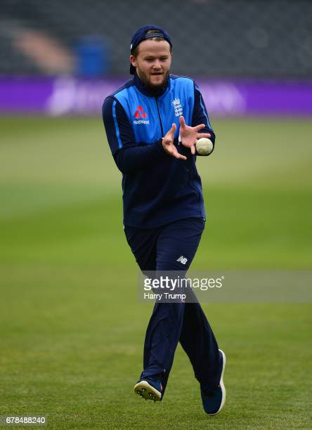 Ben Duckett of England during an England Net Session at The Brightside Ground on May 4 2017 in Bristol England