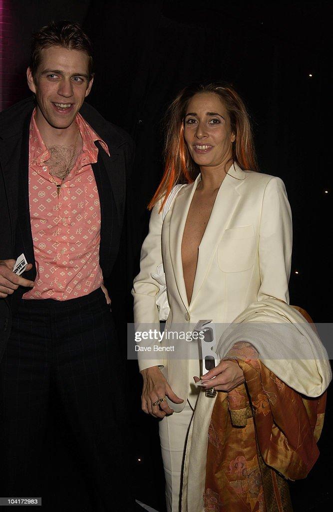 Ben Elliott And Sarah Bernard, New Italian Shop 'Jill Sander' Opening Party, Wood Lane, London