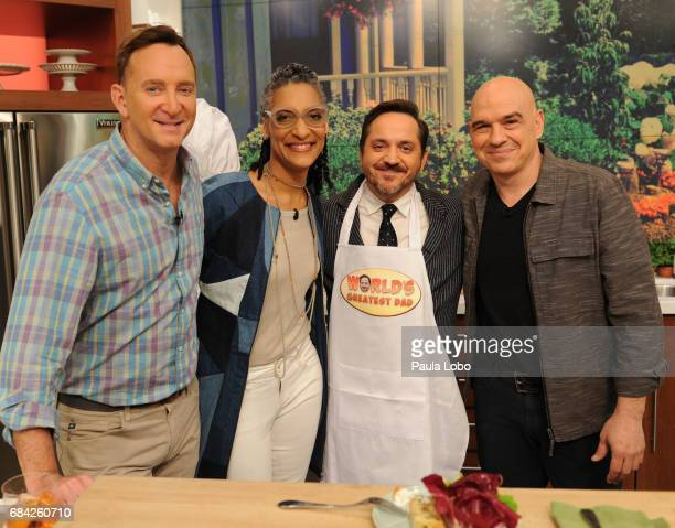 THE CHEW Ben Falcone is the guest Wednesday May 17 2017 on ABC's 'The Chew' 'The Chew' airs MONDAY FRIDAY on the ABC Television Network SYMON