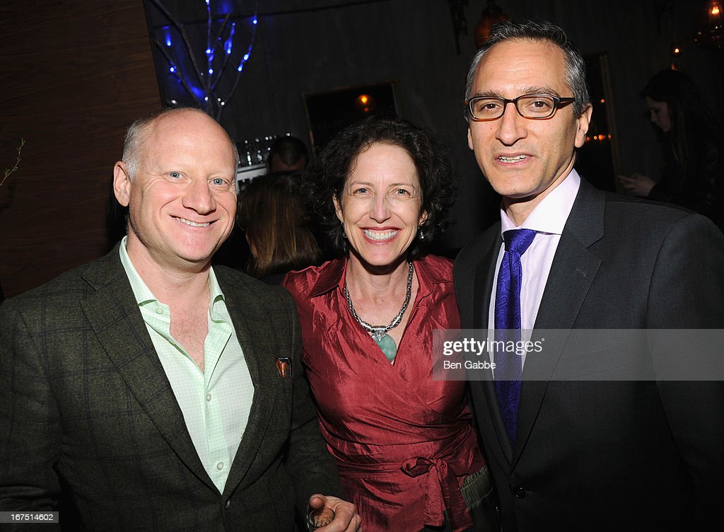 Ben Fedder, Victoria Fedder and Todd Mitty attend the 'Out of Print' Tribeca Film Festival After Party on April 25, 2013 in New York City.