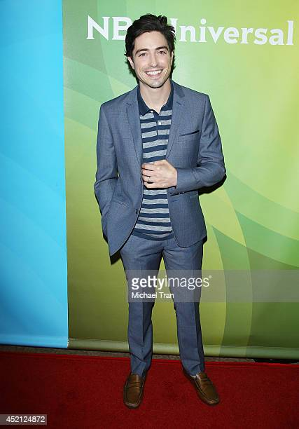 Ben Feldman arrives at NBCUniversal's 2014 Summer TCA Tour Day 1 held at The Beverly Hilton Hotel on July 13 2014 in Beverly Hills California
