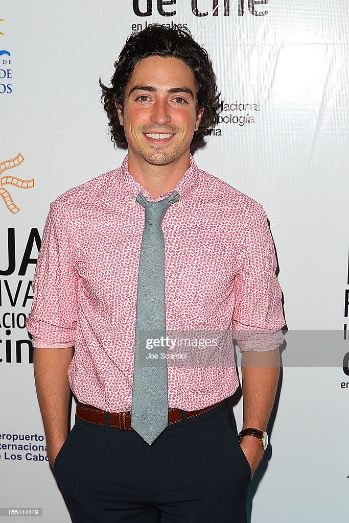 <a gi-track='captionPersonalityLinkClicked' href=/galleries/search?phrase=Ben+Feldman&family=editorial&specificpeople=709365 ng-click='$event.stopPropagation()'>Ben Feldman</a> arrives at the Inaugural Ceremony at Los Cabos Convention Center on November 14, 2012 in Cabo San Lucas, Mexico.