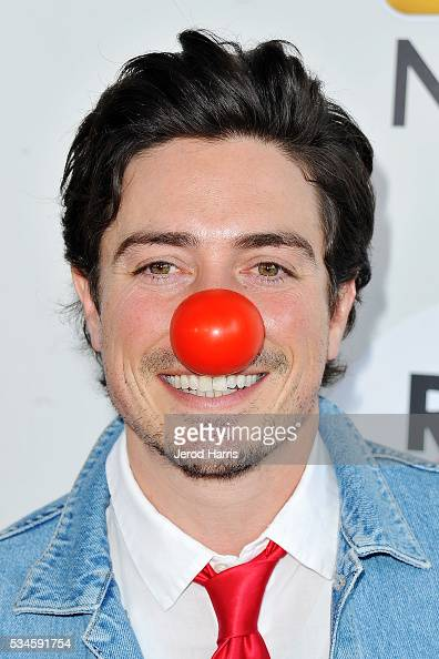 Ben Feldman arrives at the Red Nose Day Special on NBC at Alfred Hitchcock Theater at Universal Studios on May 26 2016 in Universal City California