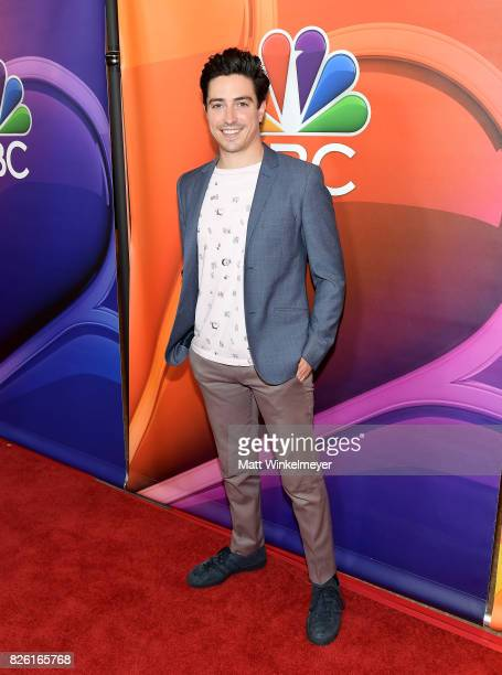 Ben Feldman at the NBCUniversal Summer TCA Press Tour at The Beverly Hilton Hotel on August 3 2017 in Beverly Hills California