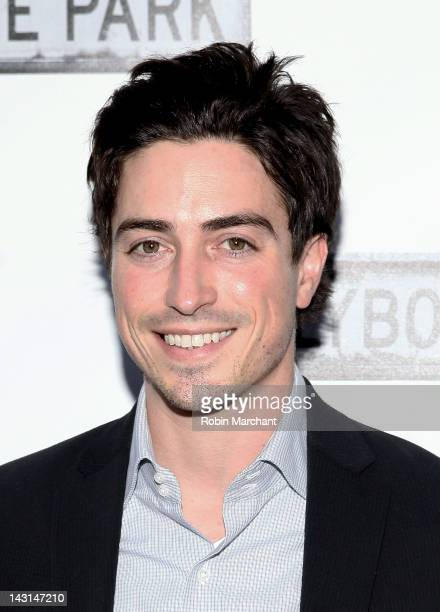 Ben Feldman attends the 'Clybourne Park' Broadway opening night at Walter Kerr Theatre on April 19 2012 in New York City