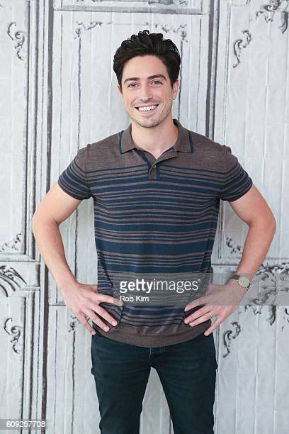 Ben Feldman poses for a photo at the Build Series at AOL HQ on September 20 2016 in New York City
