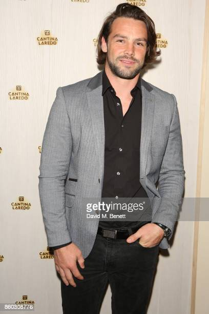 Ben Foden attends the launch of The Great Eight Guacamoles London's first Guacamoles and Tequila Bar at Cantina Laredo on October 11 2017 in London...