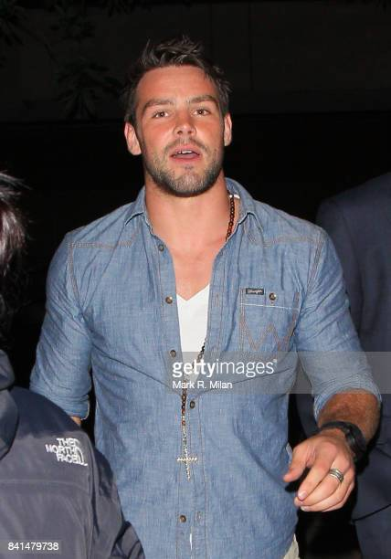 Ben Foden attends the Midsummer Night's Dream party at The Playboy Club in London
