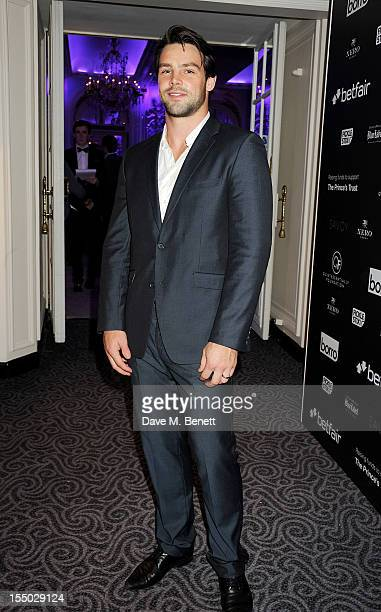 Ben Foden attends the Quintessentially Foundation's Annual Poker Evening at The Savoy Hotel on October 30 2012 in London England