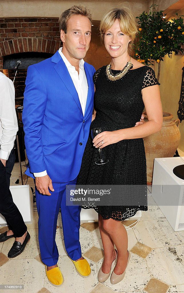 <a gi-track='captionPersonalityLinkClicked' href=/galleries/search?phrase=Ben+Fogle&family=editorial&specificpeople=216039 ng-click='$event.stopPropagation()'>Ben Fogle</a> (L) and Marina Fogle attend an evening of dinner and dancing at Daphne's on July 24, 2013 in London, England.