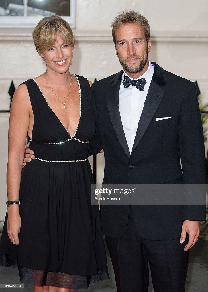 Ben Fogle and Marina Fogle attend the Tusk Trust Conservation Awards at The Royal Society on September 12, 2013 in London, England.