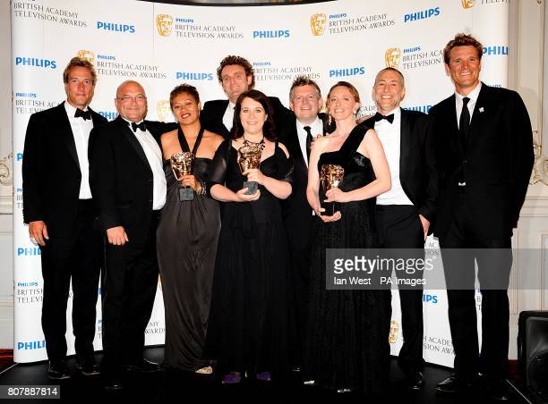Ben Fogle Gregg Wallace Monica Galetti David Ambler Karen Ross Antonia Lloyd Jamie Munro Michel Roux Jnr and James Cracknell with the Features award...