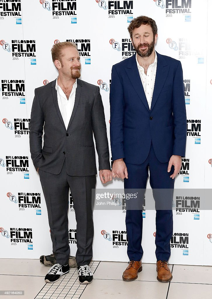 Ben Foster and Chris O'Dowd attend the 'The Program' screening, during the BFI London Film Festival, at Vue Leicester Square on October 10, 2015 in London, England.