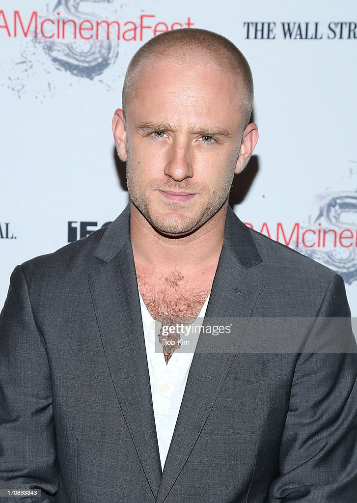 Ben Foster attends BAMcinemaFest 2013 And The Cinema Society Host The Opening Night Premiere Of 'Ain't Them Bodies Saints' at BAM Harvey Theater on...