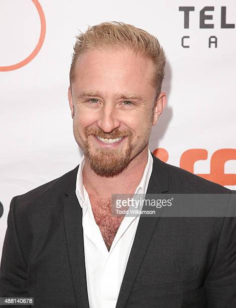 Ben Foster attends the 2015 Toronto International Film Festival 'The Program' Premiere at Roy Thomson Hall on September 13 2015 in Toronto Canada