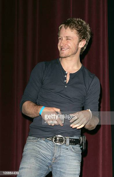 Ben Foster during 2006 Sundance Film Festival 'Alpha Dog' Premiere Inside at The Eccles in Park City Utah United States
