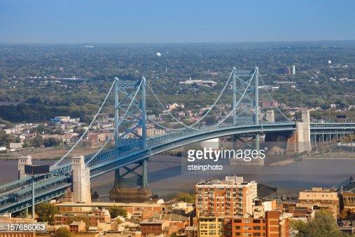 Ponte Ben Franklin em Filadélfia