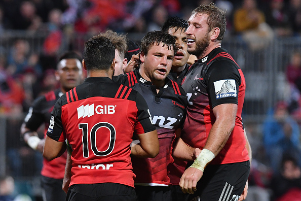 Super Rugby Rd 8 - Crusaders v Sunwolves : News Photo