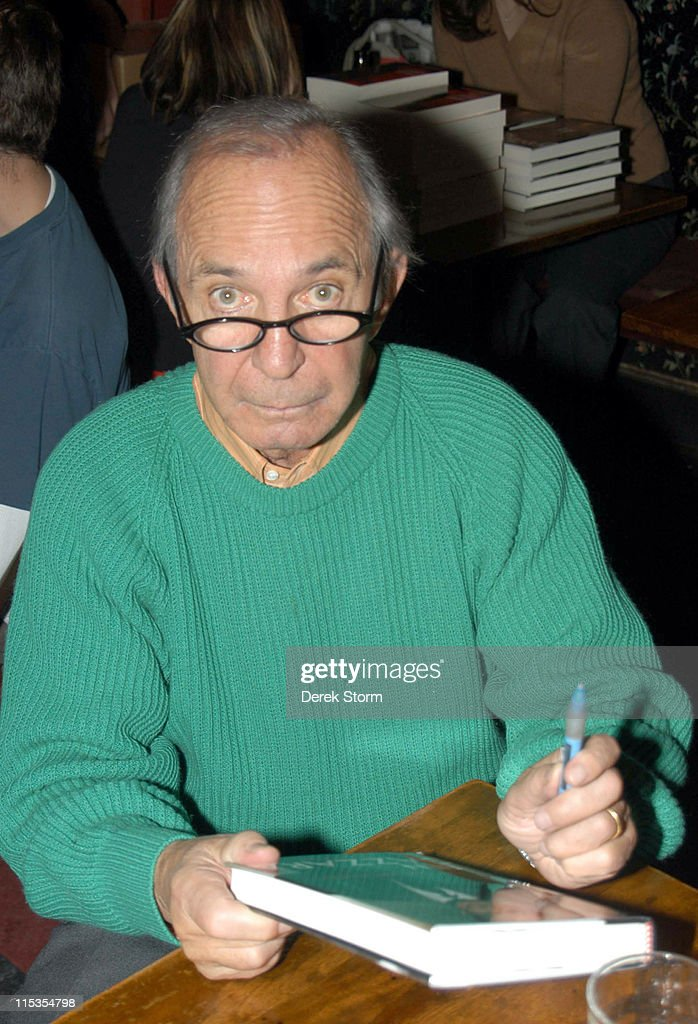 Ben Gazzara during Ben Gazzara Signs his Book 'In The Moment' - November 14, 2004 at KGB Bar in New York City, New York, United States.