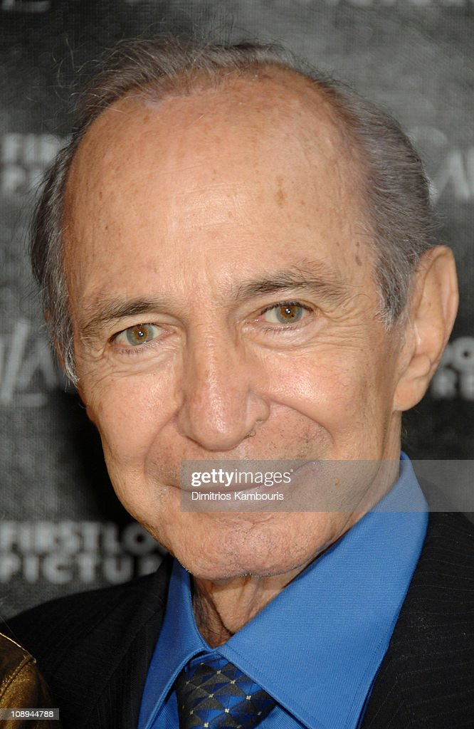 Ben Gazzara during 'Paris Je T'aime' Yves Saint Laurent New York Premiere - Arrivals at Paris Theater in New York, New York City, United States.