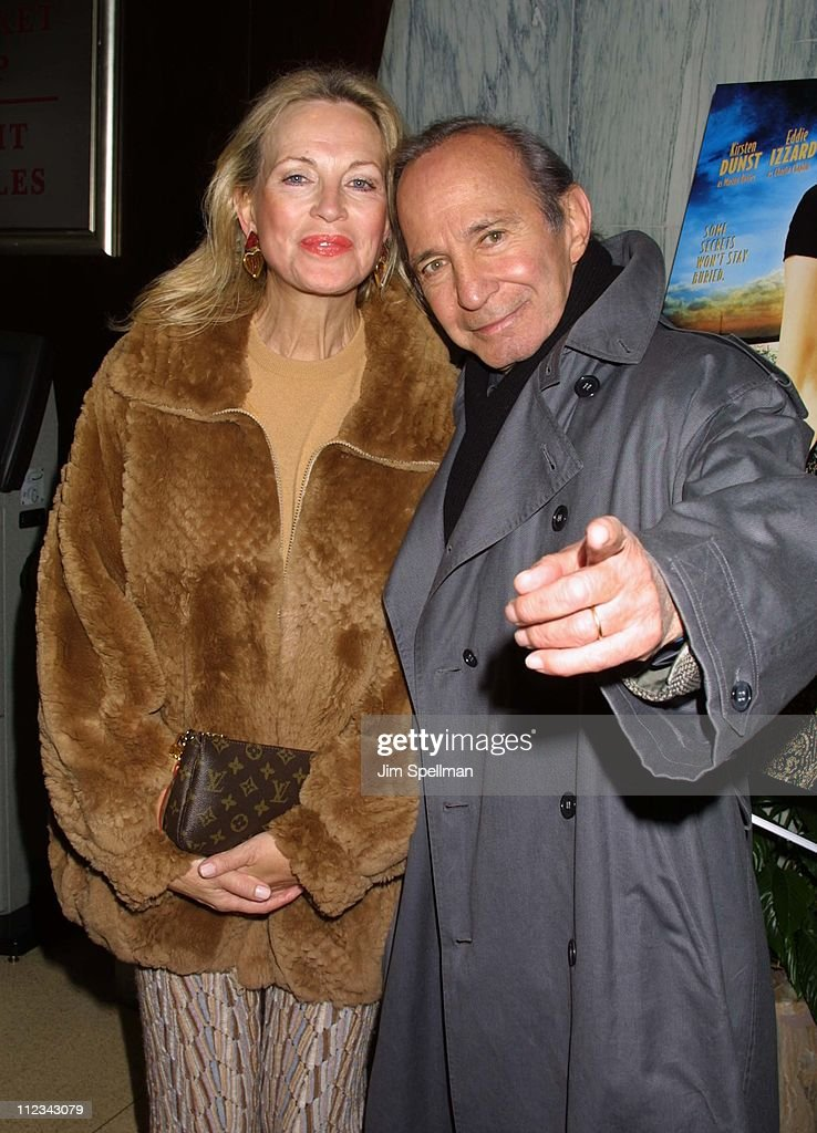 Ben Gazzara & wife during 'The Cat's Meow' New York City Premiere at Beekman Theater in New York City, New York, United States.
