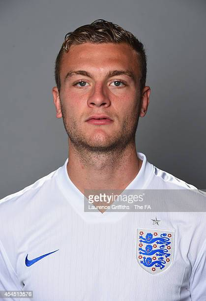 Ben Gibson of England U21 poses for a portrait at St Georges Park on September 2 2014 in BurtonuponTrent England