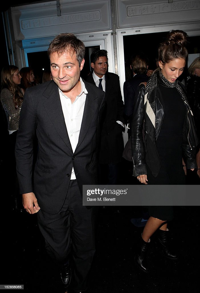 Ben Goldsmith and Jemima Jones attend a party celebrating the launch of 28 Club a new night club in the basement of Morton's Private Member's Club in...