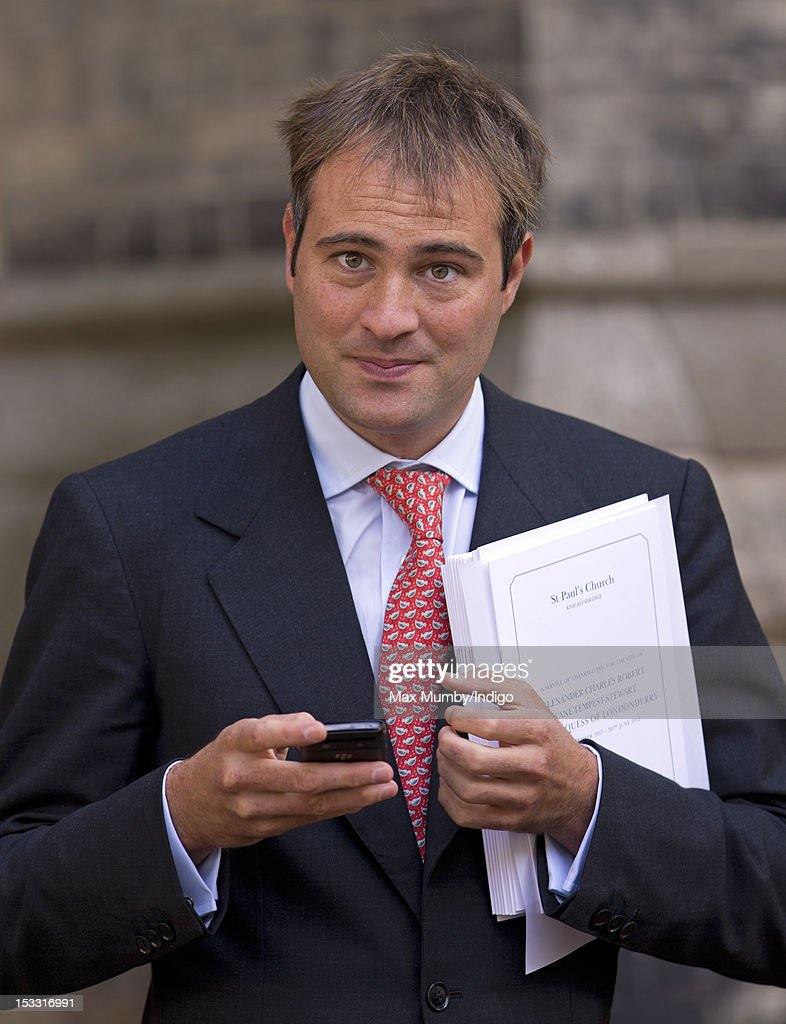 Ben Goldsmith attends a memorial service for Alistair Vane-Tempest-Stewart, 9th Marquess of Londonderry at St Paul's Church, Knightsbridge on October 3, 2012 in London, England.