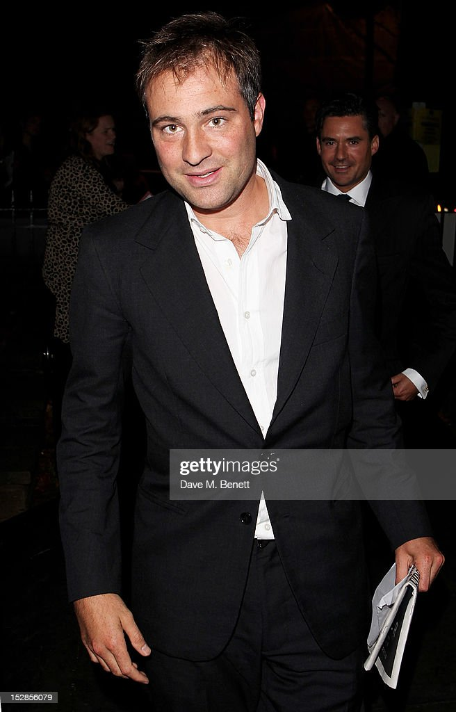 Ben Goldsmith attends a party celebrating the launch of 28 Club a new night club in the basement of Morton's Private Member's Club in Berkeley Square...