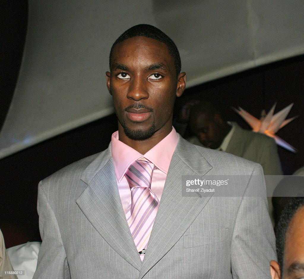 Ben Gordon #3 pick during 2004 NBA Draft After Party at Deep in New York City New York United States