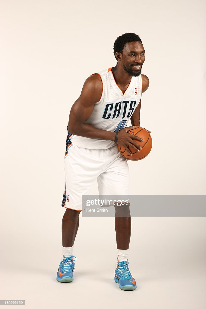Ben Gordon #8 of the Charlotte Bobcats poses for a portrait on media day at the Time Warner Cable Arena on September 30, 2013 in Charlotte, North Carolina.
