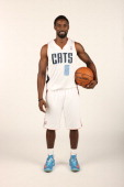 Ben Gordon of the Charlotte Bobcats poses for a portrait on media day at the Time Warner Cable Arena on September 30 2013 in Charlotte North Carolina...