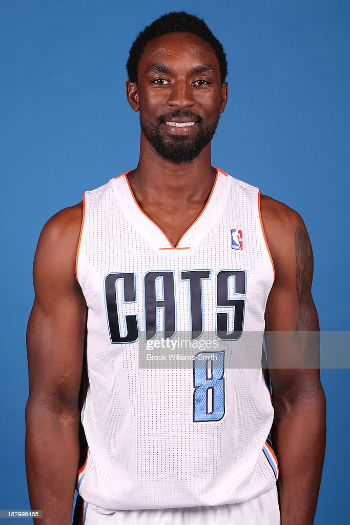 Ben Gordon #8 of the Charlotte Bobcats poses for media day at the Time Warner Cable Arena on September 20, 2013 in Charlotte, North Carolina.