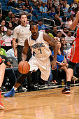 Ben Gordon of the Orlando Magic drives against the Houston Rockets on October 22 2014 at Amway Center in Orlando Florida NOTE TO USER User expressly...