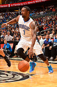 Ben Gordon of the Orlando Magic handles the ball against the Utah Jazz on December 19 2014 at Amway Center in Orlando Florida NOTE TO USER User...