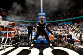 Ben Gordon of the Orlando Magic warms up before a game against the Boston Celtics on March 8 2015 at Amway Center in Orlando Florida NOTE TO USER...