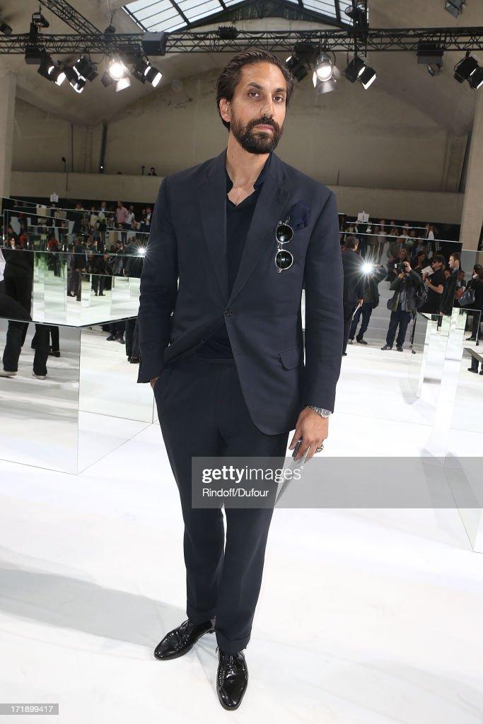 Ben Gorham attends Dior Homme Menswear Spring/Summer 2014 show as part of Paris Fashion Week on June 29, 2013 in Paris, France.