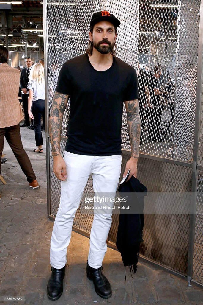 Ben Gorham attends the Givenchy Menswear Spring/Summer 2016 show as part of Paris Fashion Week on June 26, 2015 in Paris, France.