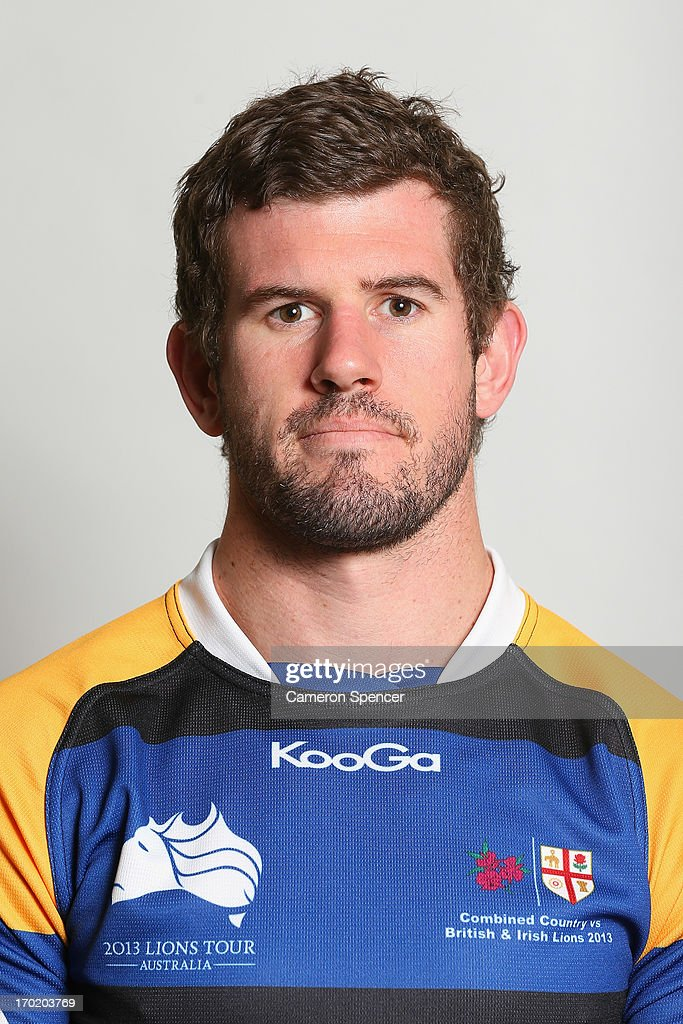Ben Greentree of the Combined NSW/QLD Country team poses during a headshots session at The Crowne Plaza on June 9, 2013 in Newcastle, Australia.