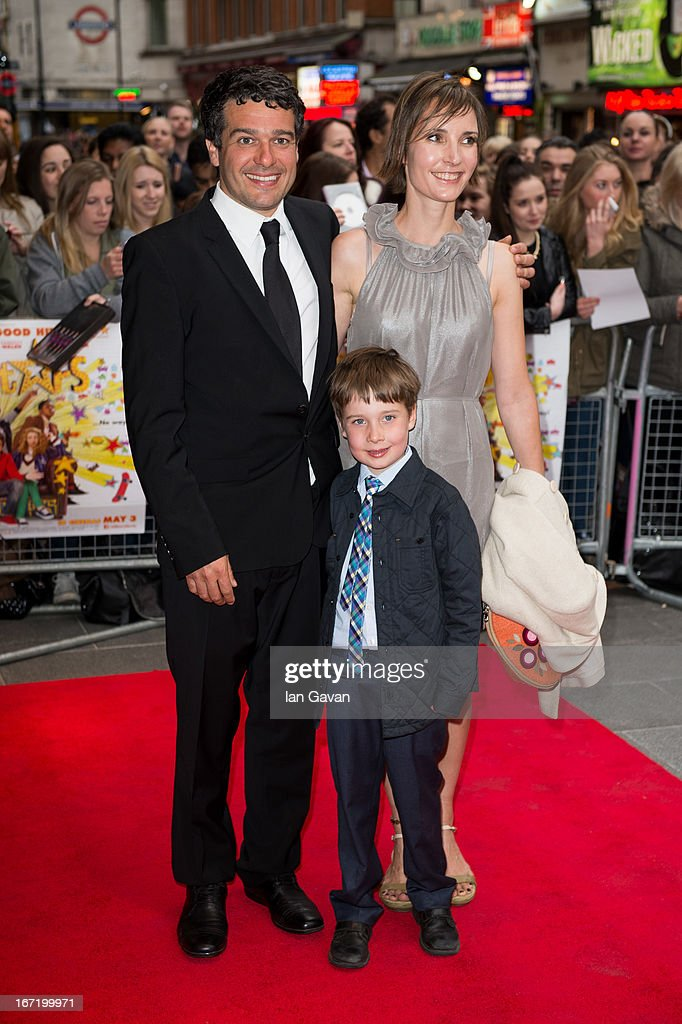 Ben Gregor (L) attends the UK Premiere of 'All Stars' at the Vue West End cinema on April 22, 2013 in London, England.