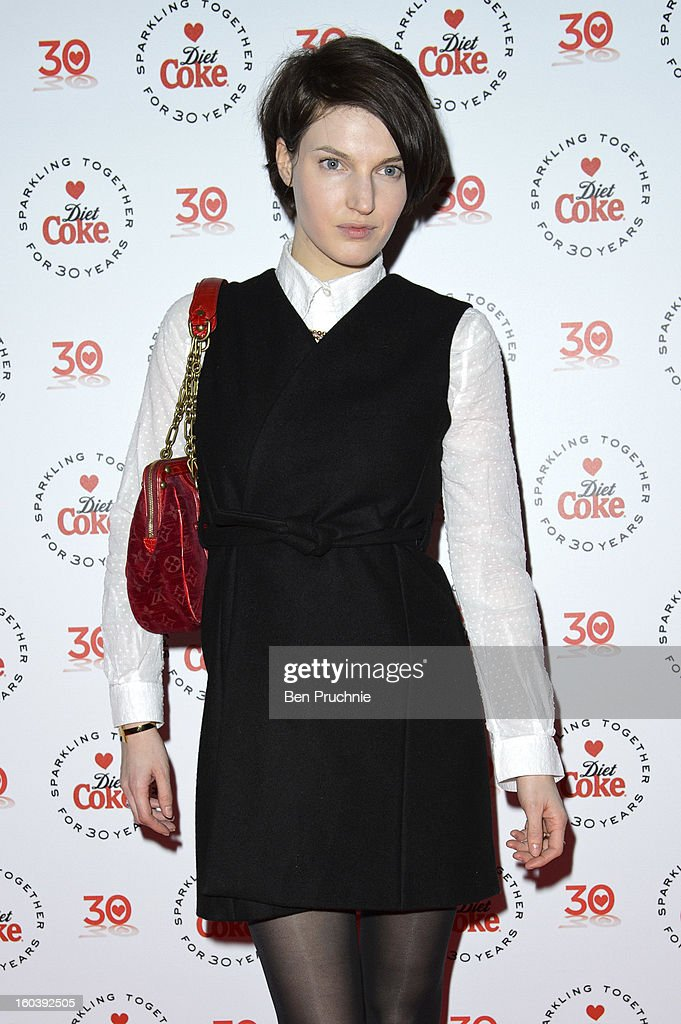 Ben Grimes attends a party hosted by Diet Coke at Sketch on January 30, 2013 in London, England.