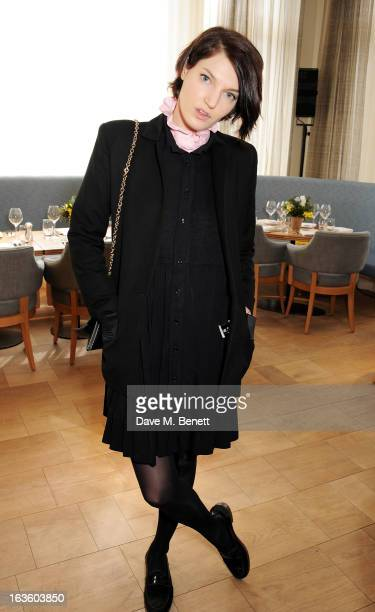 Ben Grimes attends a private lunch to celebrate US fashion brand Maiyet at The Corner Restaurant Champagne Bar in Selfridges on March 13 2013 in...