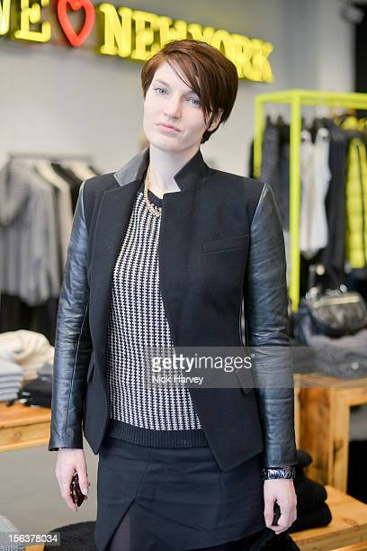 Ben Grimes attends launch of Donna Karan's Heart for Haiti collection in support of The Urban Zen Artisan project at DKNY Store on November 14 2012...